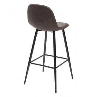 Барный стул Lion серый