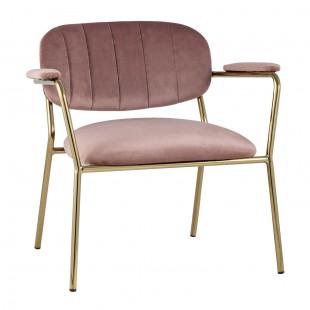 Кресло Кэрол пыльно-розовый