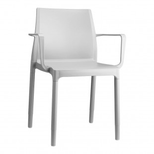 Кресло пластиковое Chloe Trend Mon Amour, лен