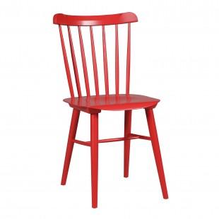 Комплект Такер, 4 стула желтый, черный, красный, синий