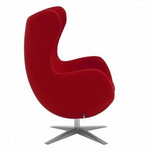 Кресло Egg, красное