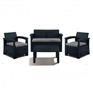 Комплект мебели под ротанг SOFT 4
