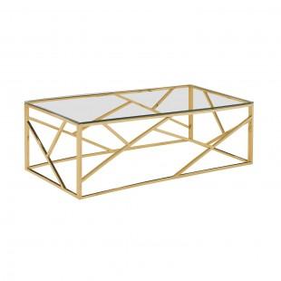 Журнальный стол Арт Деко 120 x 60 золото