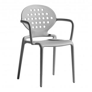 Кресло пластиковое Colette, тортора