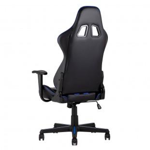Кресло игровое TopChairs Camaro синее