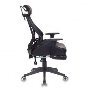 Кресло игровое CH-770/BLACK черный искусственная кожа/сетка