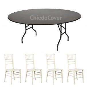 Обеденная группа Кьявари 4 стула