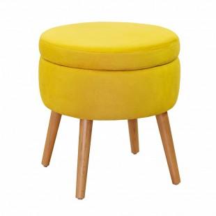 Пуф Ottis, желтый