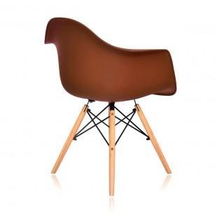 Стул Eames DAW коричневый