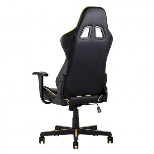 Кресло игровое TopChairs Camaro желтое