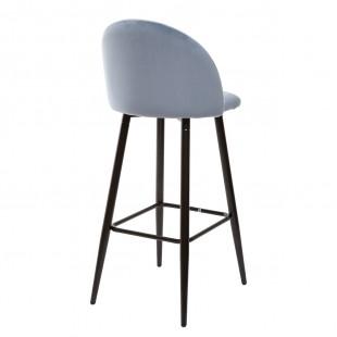 Барный стул MALIBU пудровый синий
