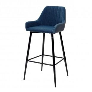 Барный стул PUNCH полночный синий