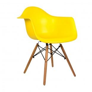 Стул Eames DAW желтый