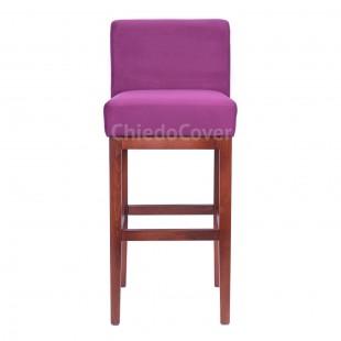 Барный стул Тревер фиолетовый