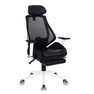 Кресло игровое CH-W770/BLACK, белый пластик