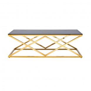 Журнальный стол Инсигния 120 x 60 золото