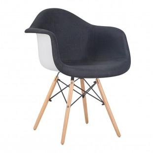 Кресло LMZL-PP620-012, антрацит/белый