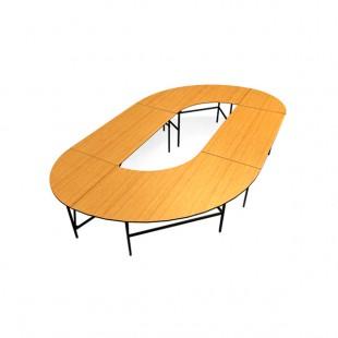 Конфигурация складных столов №5