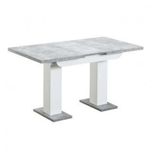 Стол Clyde бетон/белый