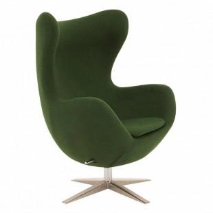 Кресло Egg, зеленое