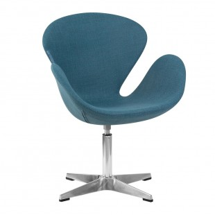 Кресло LMO-69А Swan, голубой