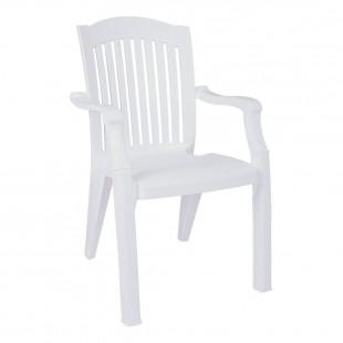 Кресло пластиковое Classic, белый