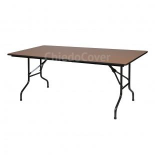 Стол Лидер 2, 1800x800, орех, черный