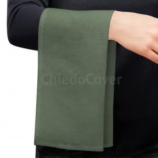 Полотенце для официанта, скатертная ткань, зеленый