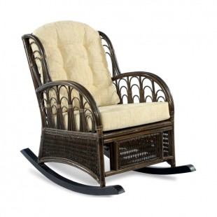 Плетеное кресло-качалка Comodo