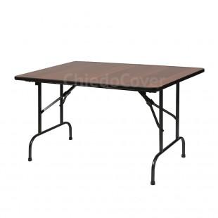 Стол Лидер 1, 900х600, орех, черный