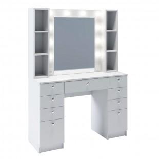 Гримерный столик с зеркалом Биттлз, белый