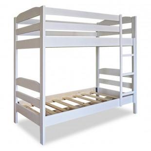 Двухъярусная кровать Тандем белый