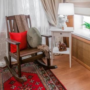 Кресло-качалка Оливер Соло с подушкой