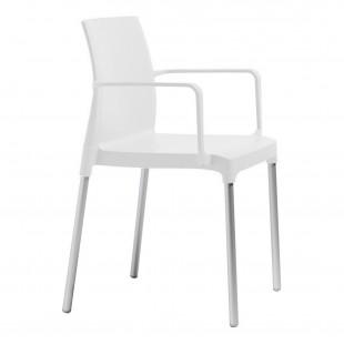 Кресло пластиковое Chloe Mon Amour, лен