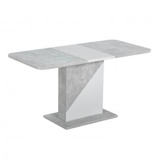 Стол Accent бетон/белый