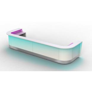 Барная стойка Модуляр с подсветкой для магазина и бара